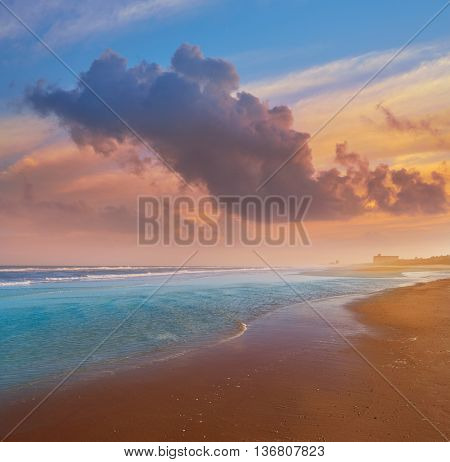 Atlantic Beach in Jacksonville East of Florida USA US