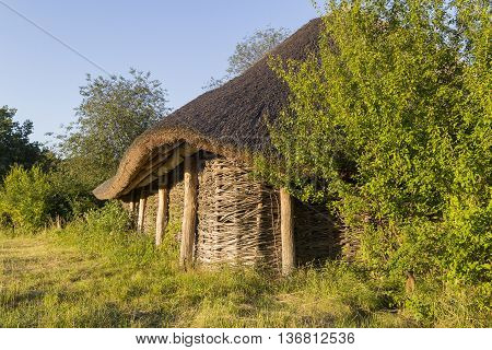 The Old Wooden Houses, Log Cabins