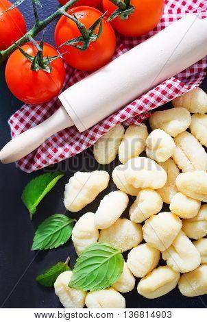Raw Potato Gnocchi