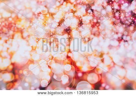 Defocused bokeh lights, Blurred bokeh, Bokeh light vintage background, Abstract colorful defocused dot, Soft focus
