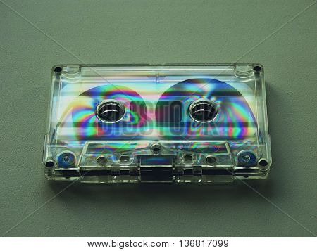 Audio cassettes for recorder 80s 90s 70s retro vintage old music time generation music tape