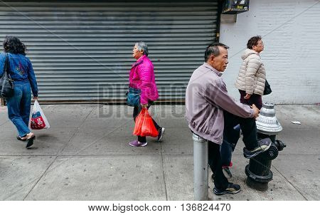 Chinatown, Manhattan, New York, United States