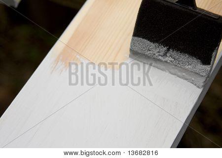 Painting Pine Trim