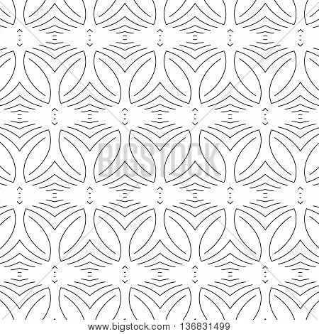 Primitive grey abstract pattern with lines and circles