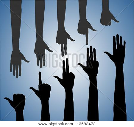 Mãos humanas