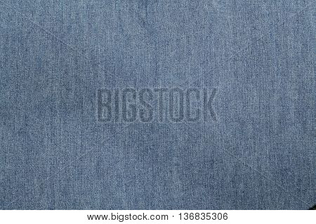 Blue jean fabric texture for sure was filming the show.