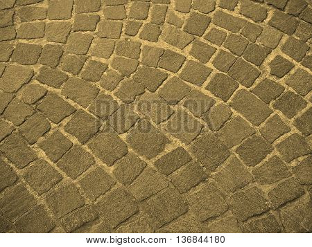 Red Porphyry Background Sepia