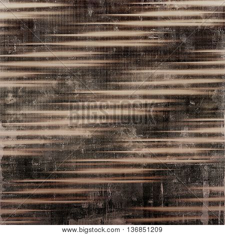 Old crumpled grunge background or ancient texture. With different color patterns: yellow (beige); brown; gray; black