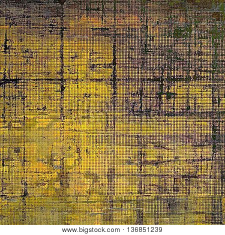 Colorful grunge background, tinted vintage style texture. With different color patterns: yellow (beige); brown; gray; black; purple (violet)