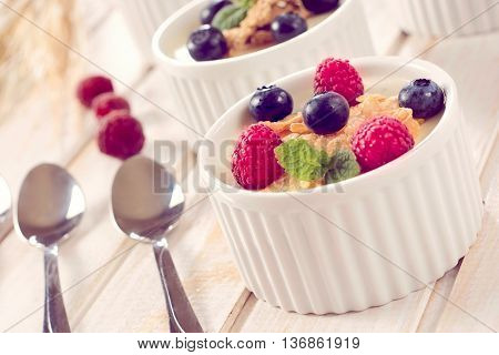 Corn Flakes And Berry Fruit