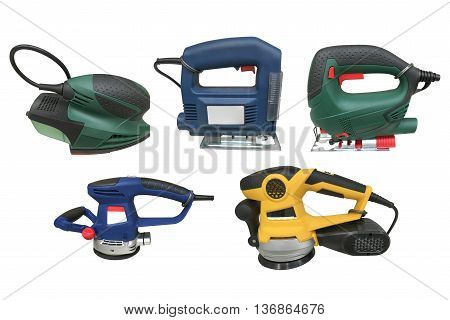 image of manual grinders isolated on white background