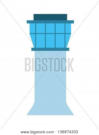 airport tower   isolated icon design, vector illustration  graphic
