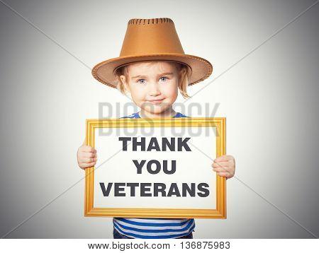 Text Thank You Veterans.