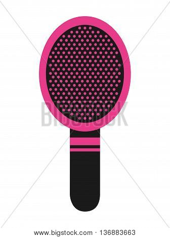 comb makeup isolated icon design, vector illustration  graphic