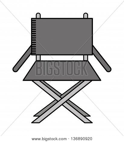 director chair isolated icon design, vector illustration  graphic