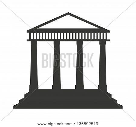 government construction  isolated icon design, vector illustration  graphic