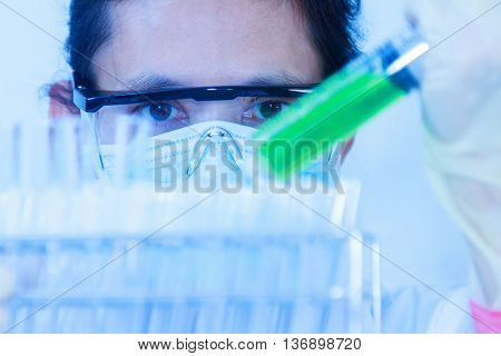 The Scientist Test Or Science Research,science Concept,science Education,science Background ,science