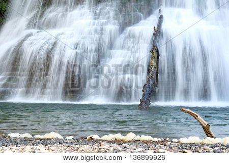 Waterfalls at Robert H. Treman State Park near Ithaca, New York