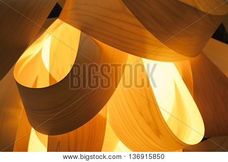 Abstract Interior Decoration Background