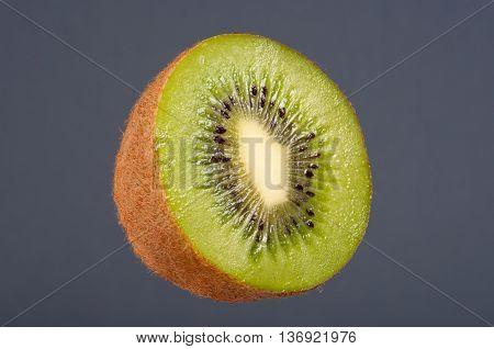 Kiwi Fruit, Half Full, Studio Shoot.