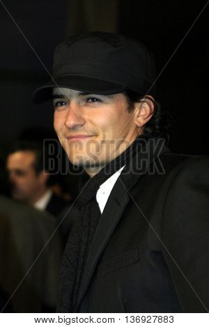 Orlando Bloom at the AFI Fest premiere of' 'Beyond the Sea' at the ArcLight Cinemas in Hollywood, USA on November 4, 2004.