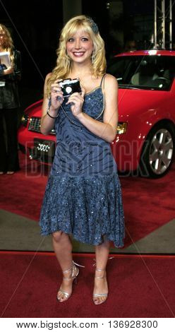 Courtney Peldon at the AFI Fest premiere of' 'Beyond the Sea' at the ArcLight Cinemas in Hollywood, USA on November 4, 2004.