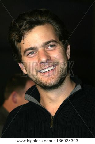 Joshua Jackson at the AFI Fest premiere of' 'Beyond the Sea' at the ArcLight Cinemas in Hollywood, USA on November 4, 2004.