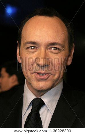Kevin Spacey at the AFI Fest premiere of' 'Beyond the Sea' at the ArcLight Cinemas in Hollywood, USA on November 4, 2004.