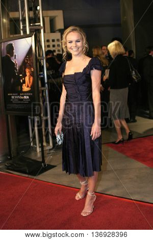 Kate Bosworth at the AFI Fest premiere of' 'Beyond the Sea' at the ArcLight Cinemas in Hollywood, USA on November 4, 2004.