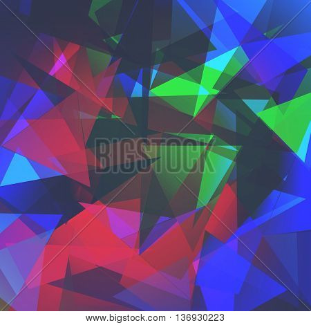Abstract triangles background for use in your design