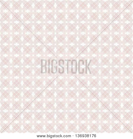 Geometric fine abstract vector octagonal background. Seamless modern pattern. Light pink pattern