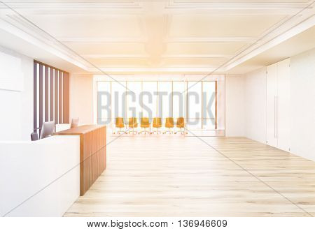 Reception And Conference Room Toning