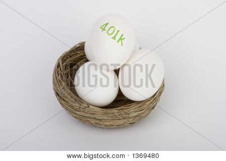 Large 401K Nest Egg