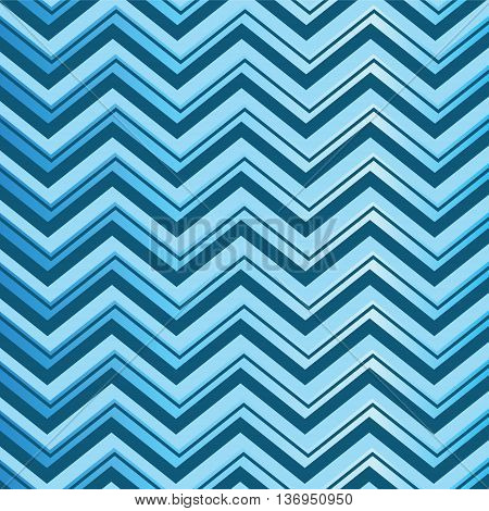 3 blue shade lines chevron style pattern background vector illustration abstract image and look glossy