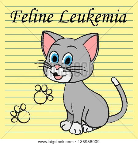 Feline Leukemia Represents Domestic Cat Cancer Illness