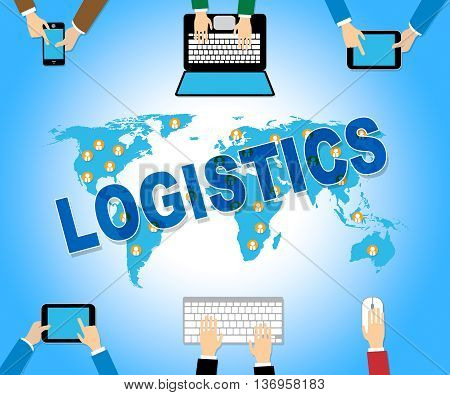 Business Logistics Represents Web Site Strategy And Analysis