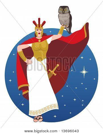 Athena en blanco