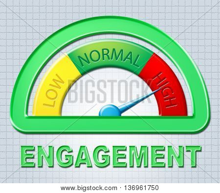 High Engagement Indicates Dial Concentrating And Immersed