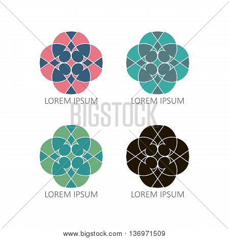 Mandalas Or Element For Decoration, Geometrical Elements For Decoration