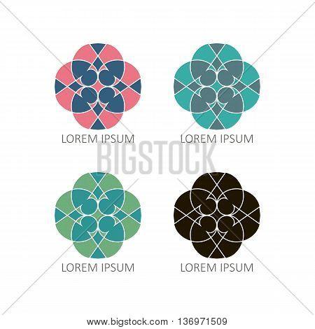 Mandalas Or Element For Decoration, Geometrical Elements For Decoration