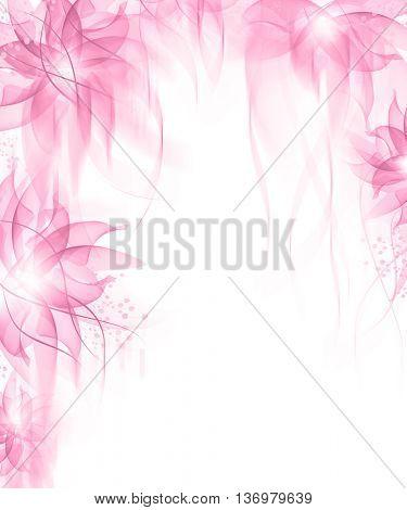 Romantic Flower Background
