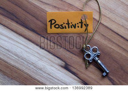 Secret Key For A Positive Life