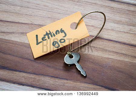 Secret Key To Letting Go
