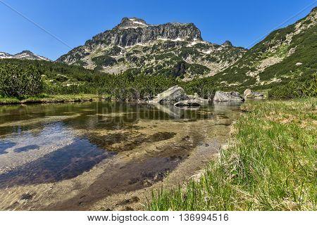Dzhangal peak and Banski lakes, Pirin Mountain, Bulgaria