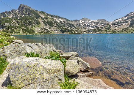 Sivrya peak and Popovo lake, Pirin Mountain, Bulgaria