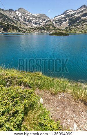Dzhano peak and Popovo lake, Pirin Mountain, Bulgaria
