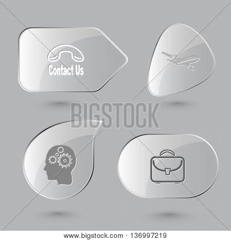 4 images: label