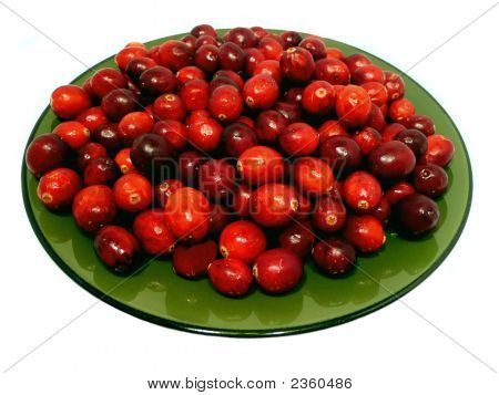 Cranberry Plate