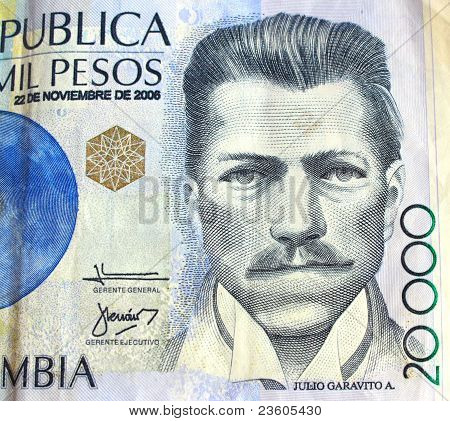 Colombian money