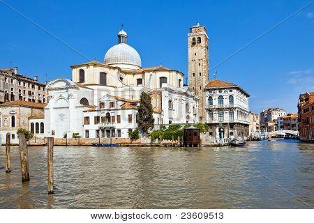 San Geremia Church In Venice, Italy